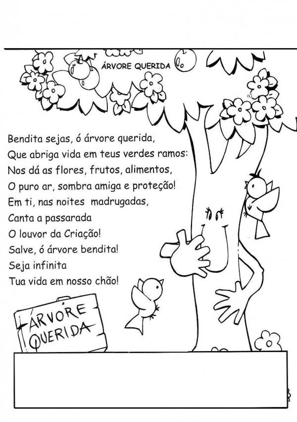 dia da árvore poesia